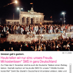 FreeSMS am 9. November